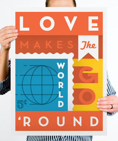 Graphic Design Inspiration: John Choura Poster