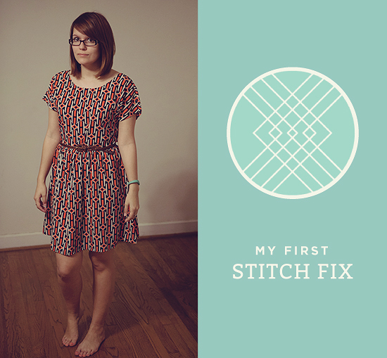 stitch-fix-review-Honey-Punch-Geo-print-dress