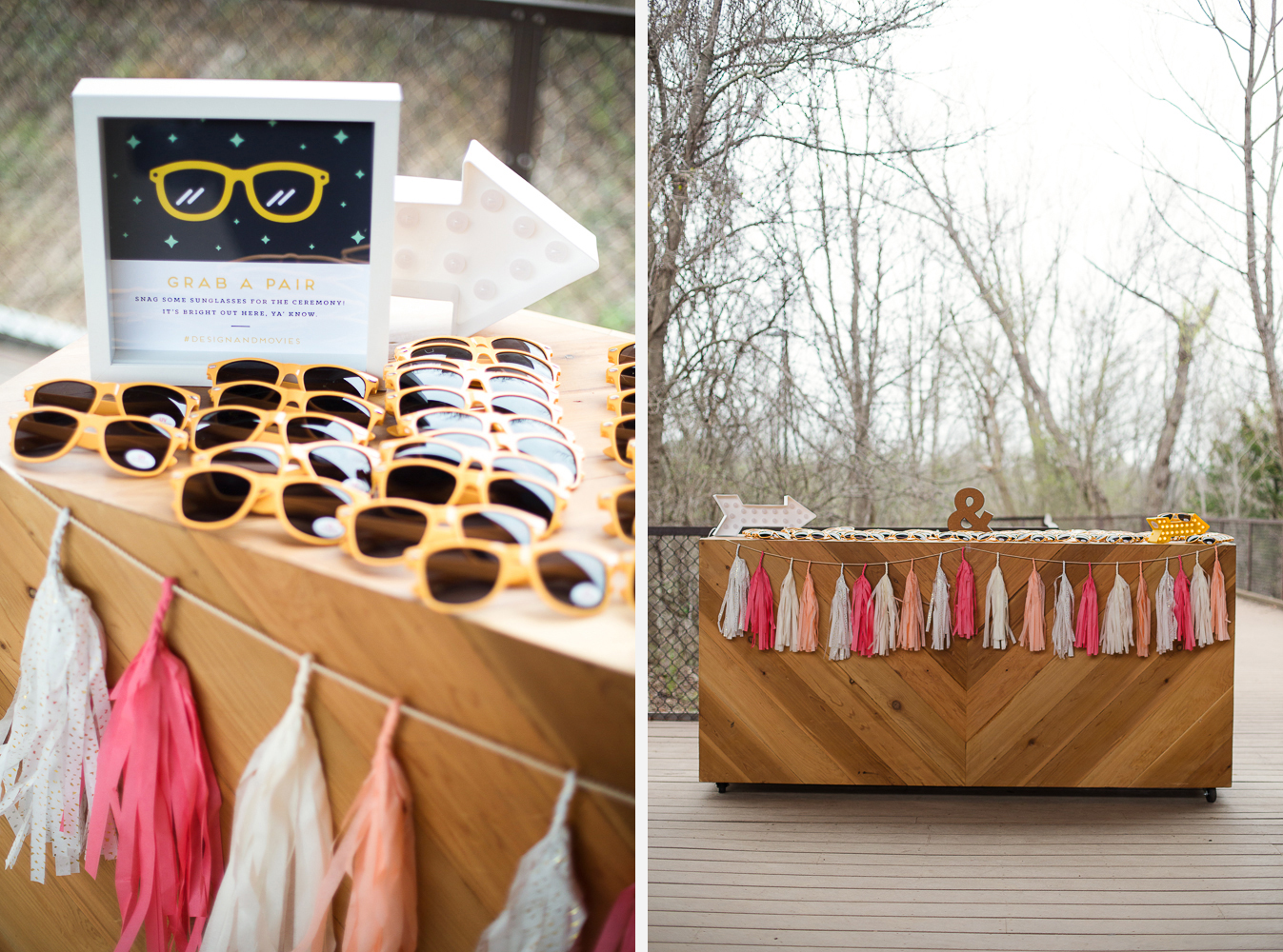 Sunglasses Bar from Juniper Rentals