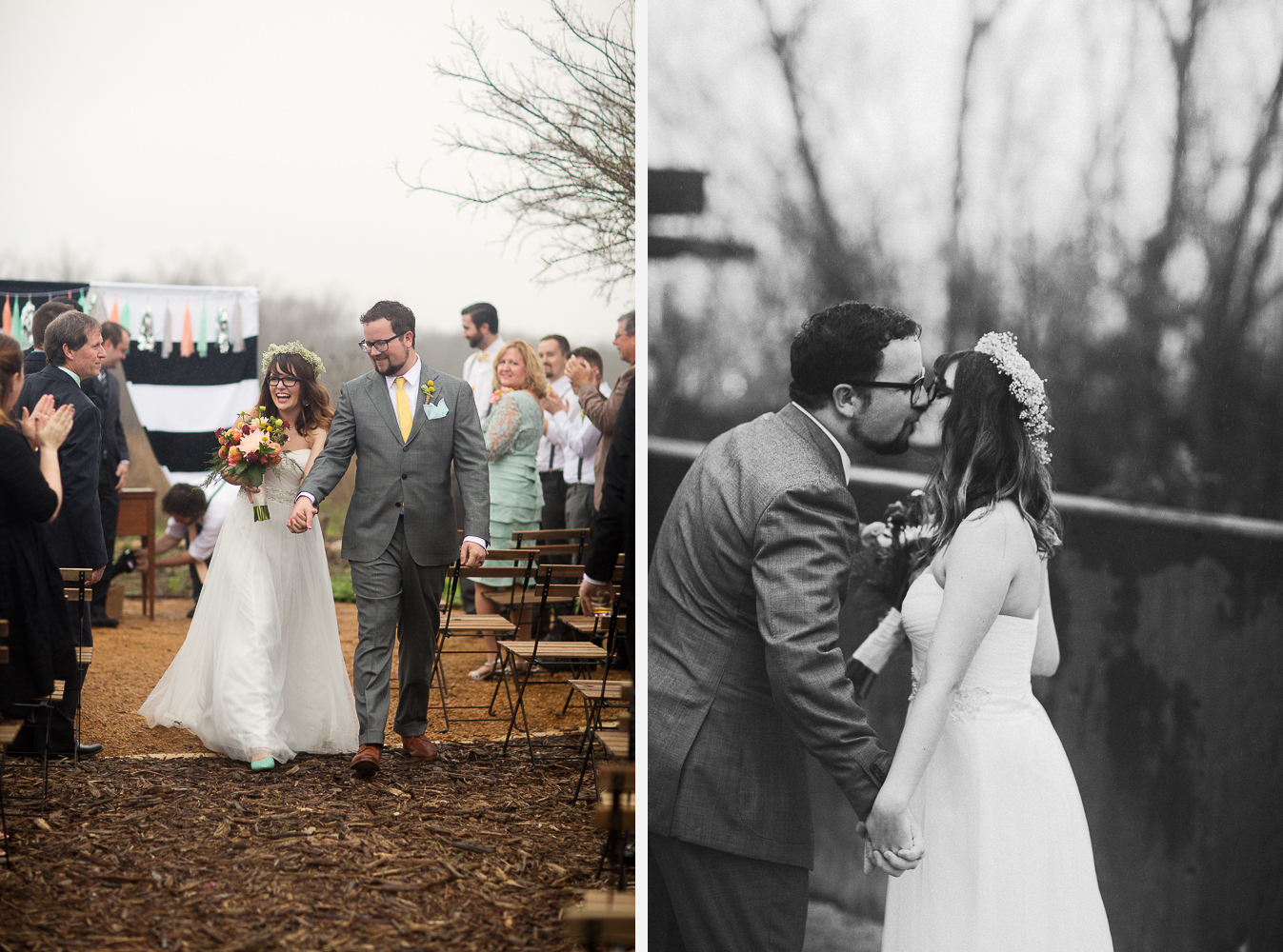Wedding at Trinity River Audubon Center, Butteryfly Garden
