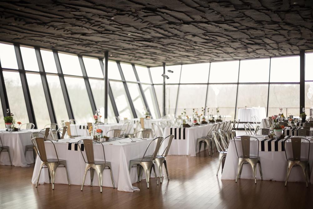 Trinity River Audubon Wedding, Great Hall