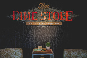 The DIME Store Interior in Denton, TX