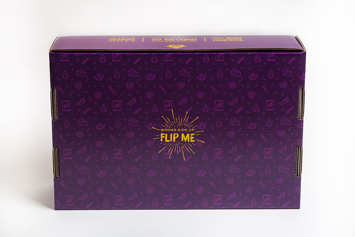 Shipping Box Design for Takis - Bottom