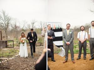Wedding at Trinity River Audubon Center, Butteryfly Garden