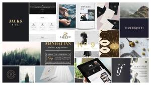 Moodboard for Jacks & Company - DFW Design Process