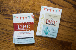 The DIME Store Interior and Logo
