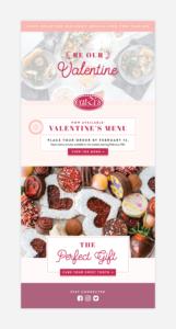 Eblast Design for Dallas Restaurant, Eatzi's