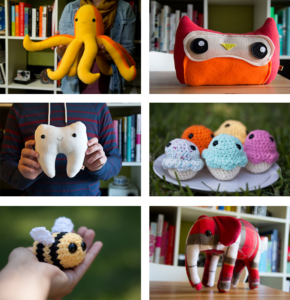 Stuffed Animals via Fuzzy Muffins