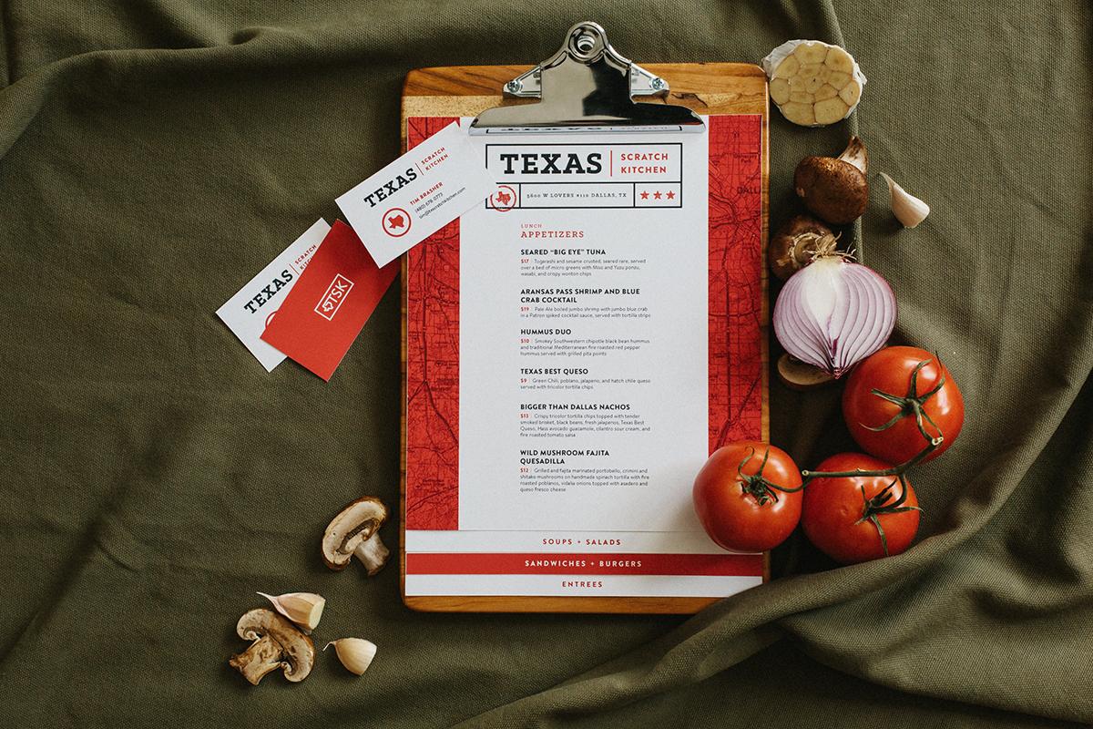 Scratch Kitchen Menu texas scratch kitchen | freelance graphic designer | dallas, texas