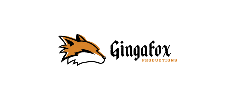 Gingafox Productions - Music Booking Business Card Design