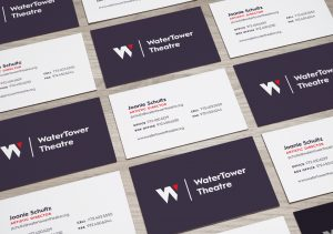 Freelance Business Card Design for a Theatre