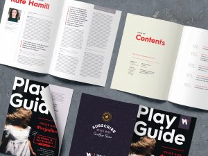 Freelance Publication Design, Play Guide Layout
